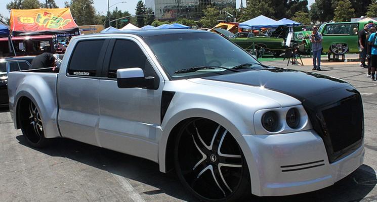 rides, cars, ford, f-150, widebody, lpz, forgiato