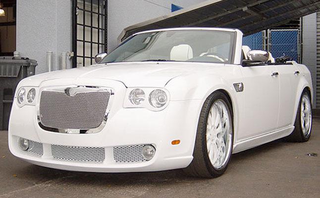 rides chrysler 300c vert white
