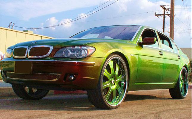 cars rides bmw 7 series chameleon