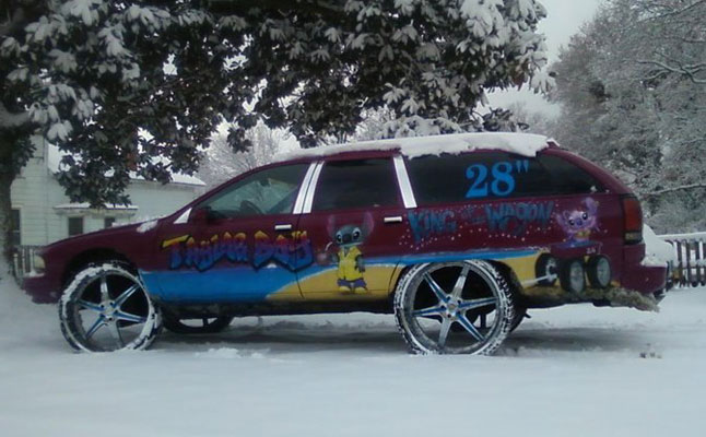 rides cars chevy caprice wagon 28s reader