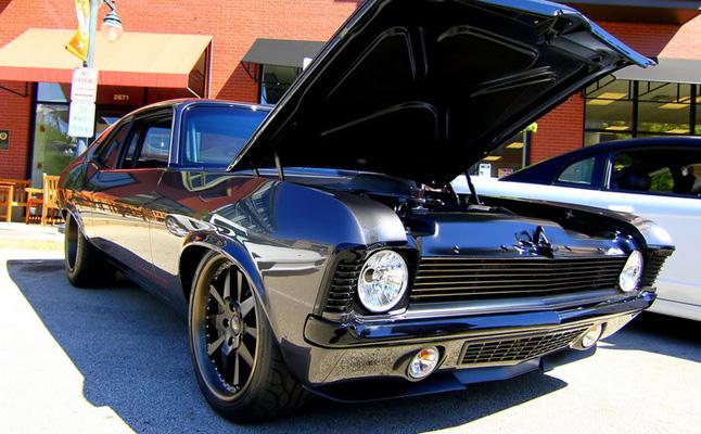rides cars 1970 Chevy Chevrolet Nova