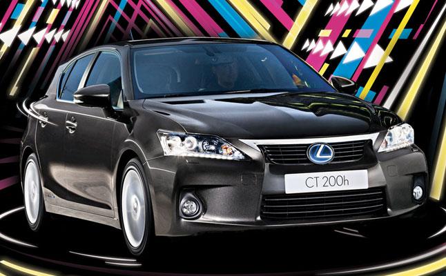 rides cars Lexus CT 200h review