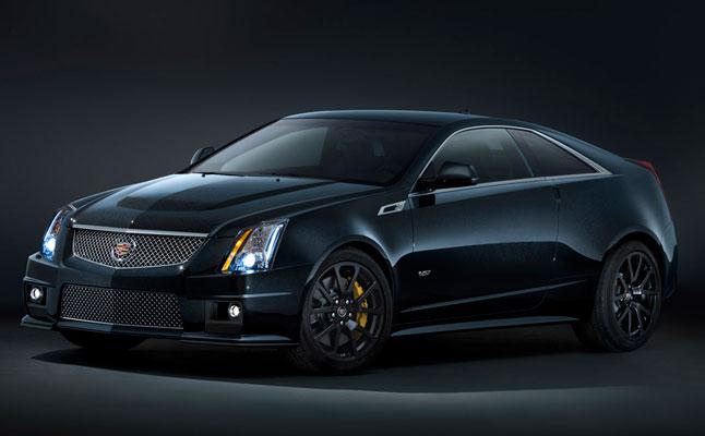 2011 Cadillac CTS-V Black Diamond Edition rides cars