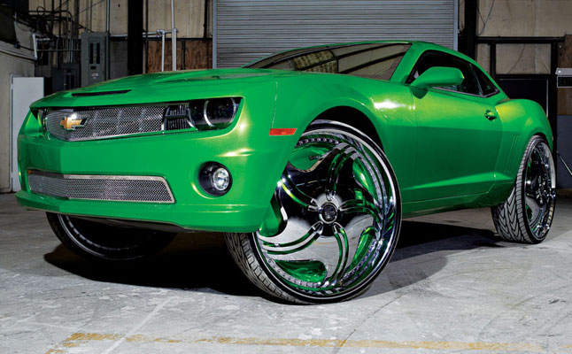 rides cars chevy-camaro-on-30s-green-kent's
