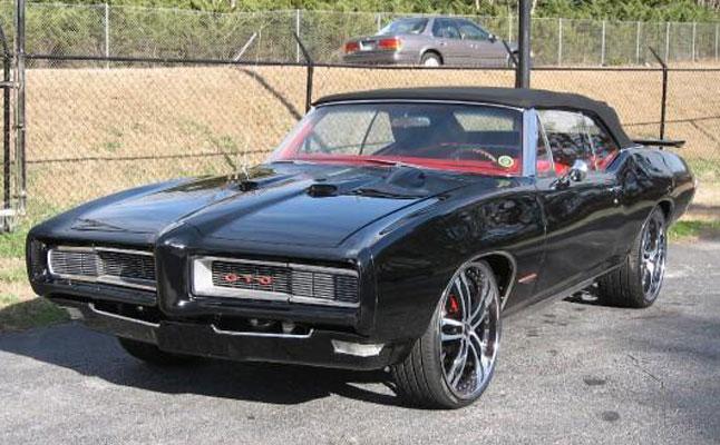 rides cars 1969 pontiac gto