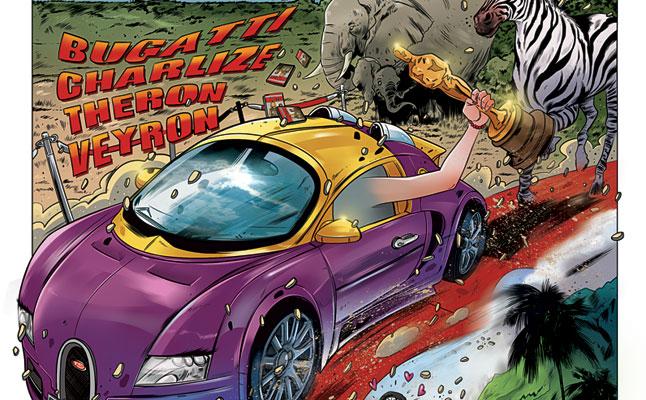 rides cars bugatti charlize theron veyron porsche tia carrere