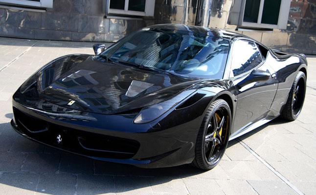 rides cars ferrari 458 italia anderson germany black carbon