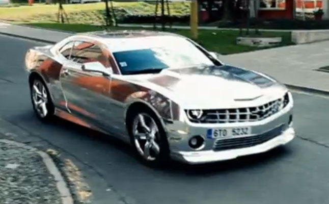 0-60 cars rides-chrome-chevy-camaro-wrap