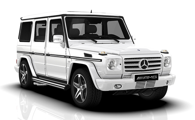 rides cars mercedes-benz-g55-amg-feat