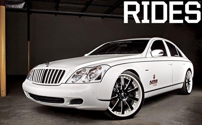 rides cars matte white maybach 57 platinum luxury4play
