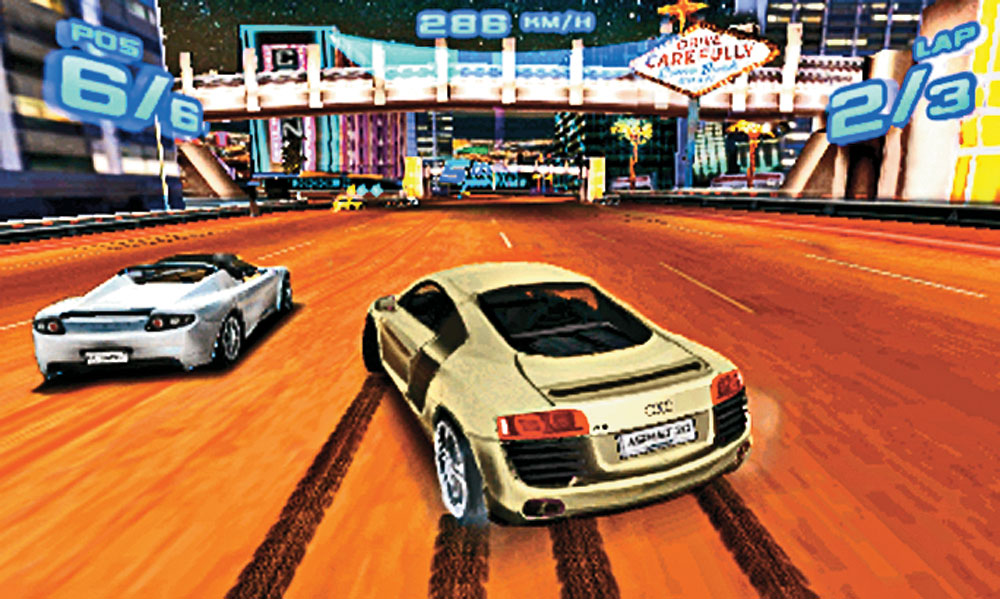 rides cars asphalt 3D game