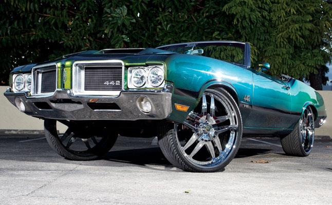 rides cars 1971 oldsmobile cutlass cutty donk 442