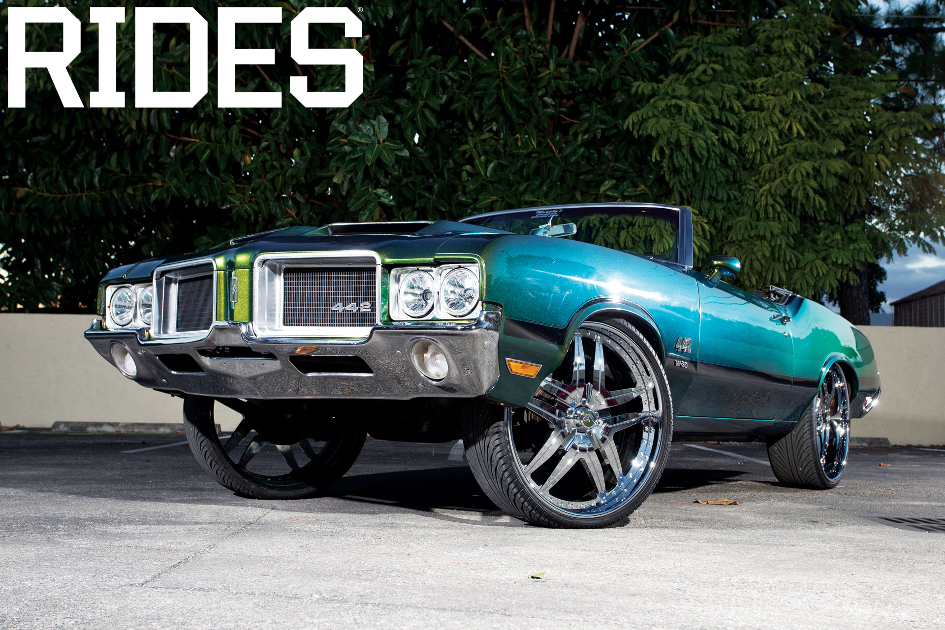 rides cars 71 olds cutty cutlass oldsmobile 442 wallpaper donk