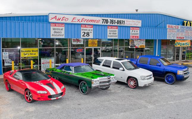 rides cars auto extremes georgia t-pain shop