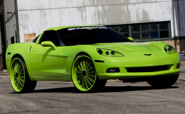 rides cars spade kreations corvette chevy chevrolet 26s