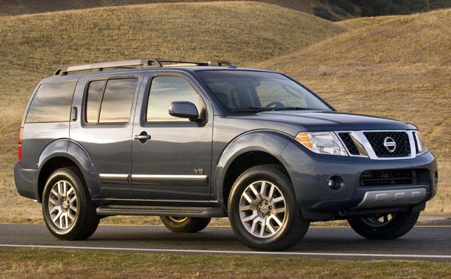 rides cars nissan pathfinder 2011