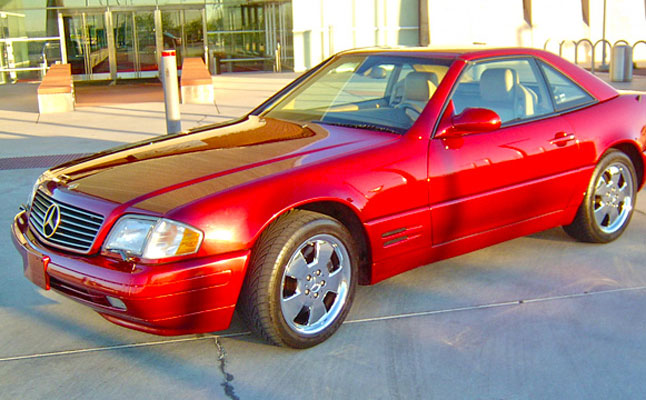 Mercedes benz sl500 pittsburgh steelers for Mercedes benz pittsburgh