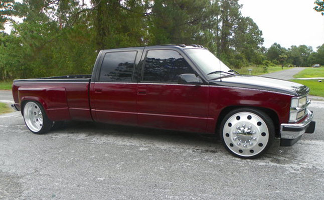 rides cars chevrolet chevy c/k dually