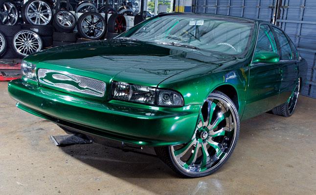 rides cars chevy impala ss bubble 1995 donk box