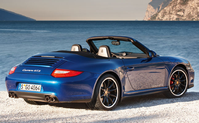 rides cars porsche 911 carrera gts 997 997.2 cabriolet 2011