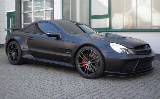 rides cars mercedes-benz sl65 amg black series brabus vanish