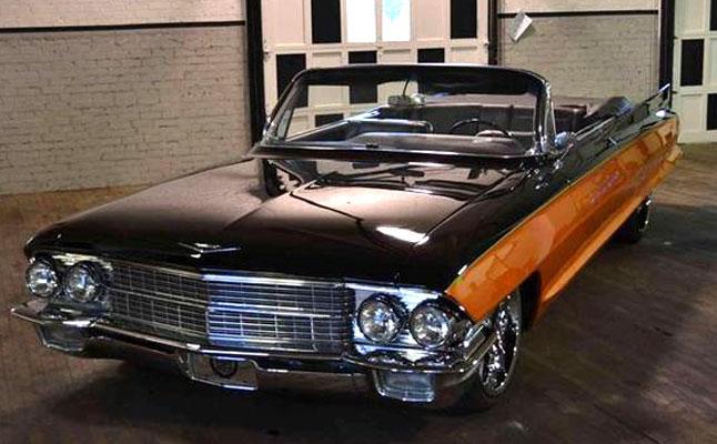 rides cars 1962 cadillac custom convertible vert