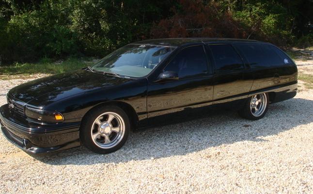 Chevrolet Chevy Caprice 1991 Rides