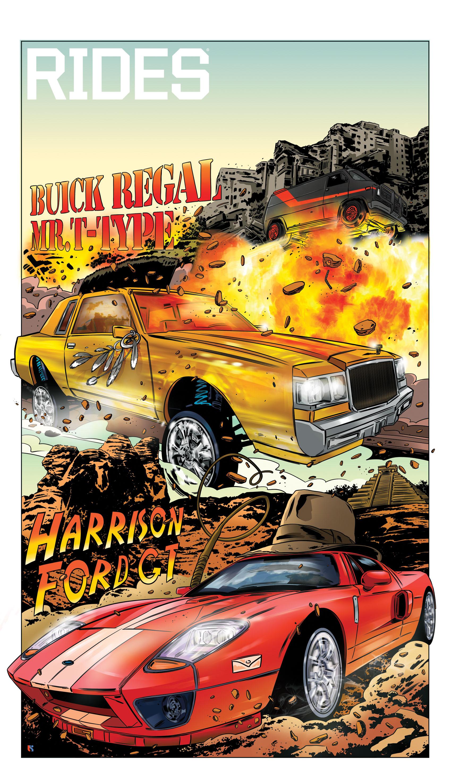 rides cars Tin salamunic buick regal ford gt harrison mr. t a-team