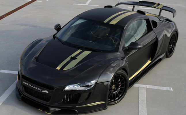 Audi, R8, 2010, Rides