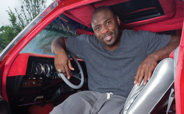 rides cars brandon jacobs new york giants football chevy chevrolet donk