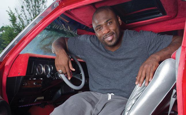 rides cars brandon jacobs new york giants football chevy chevrolet donk