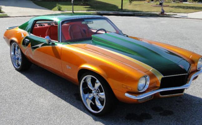 Chevrolet, Chevy, Camaro, Rides, 1971