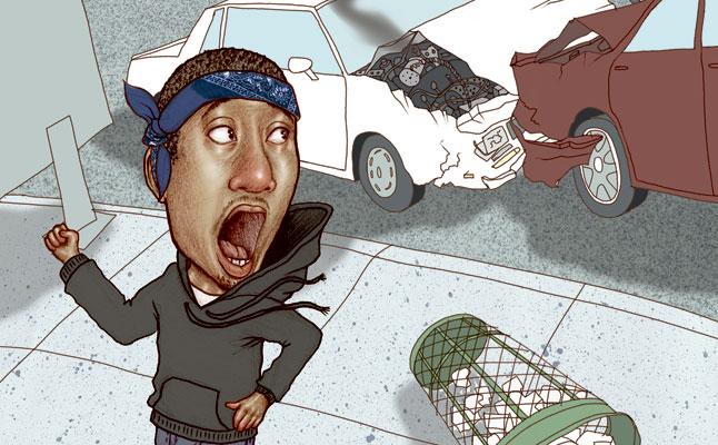 rides cars maino talkin' crash