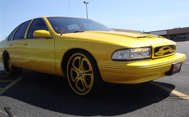 Chevrolet, Chevy, Impala, 1996, Bubble, Rides