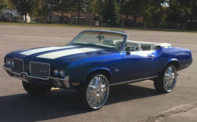 1972, Oldsmobile, Cutlass, Custom, Rides