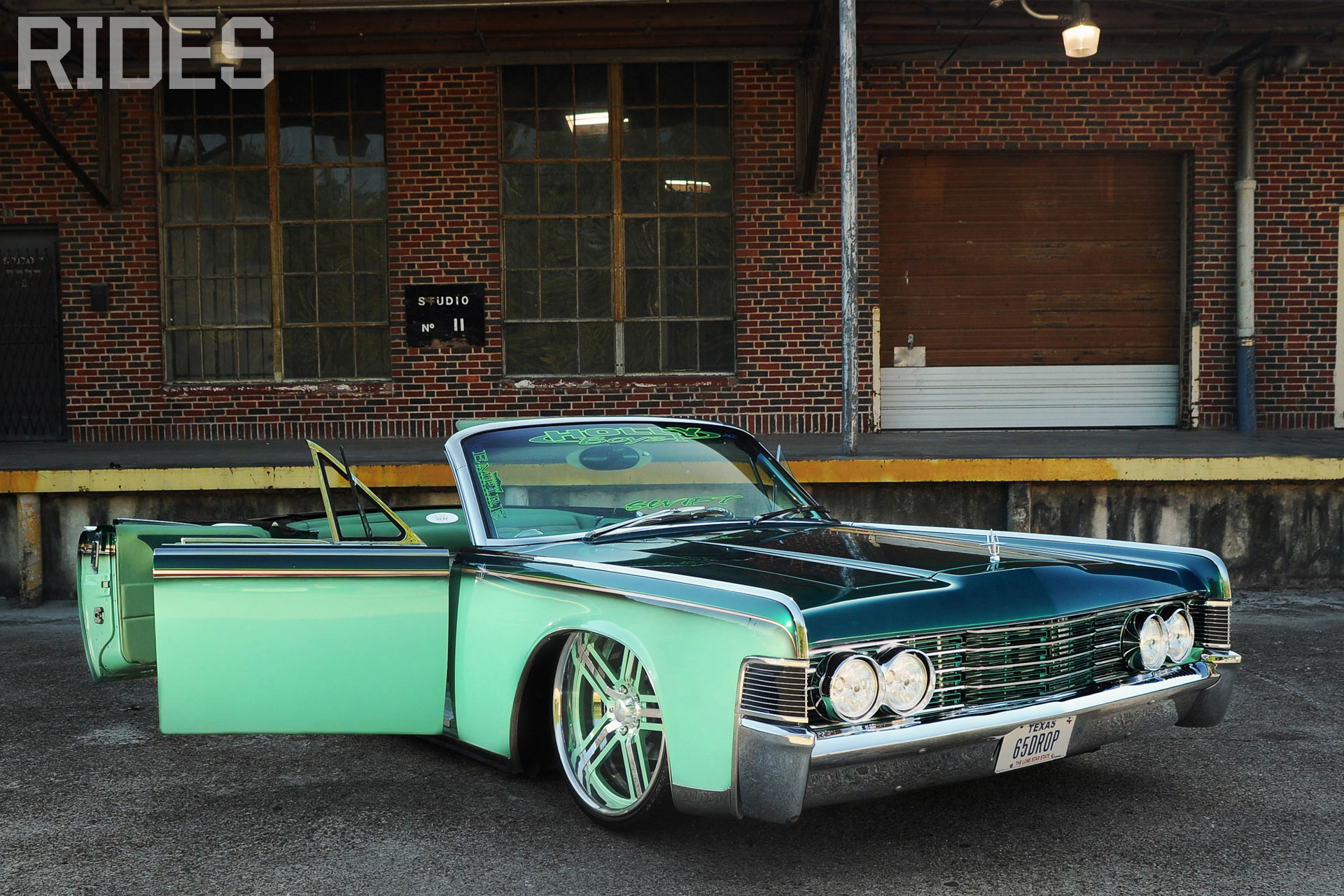 rides cars 1965 '65 lincoln continental wallpaper