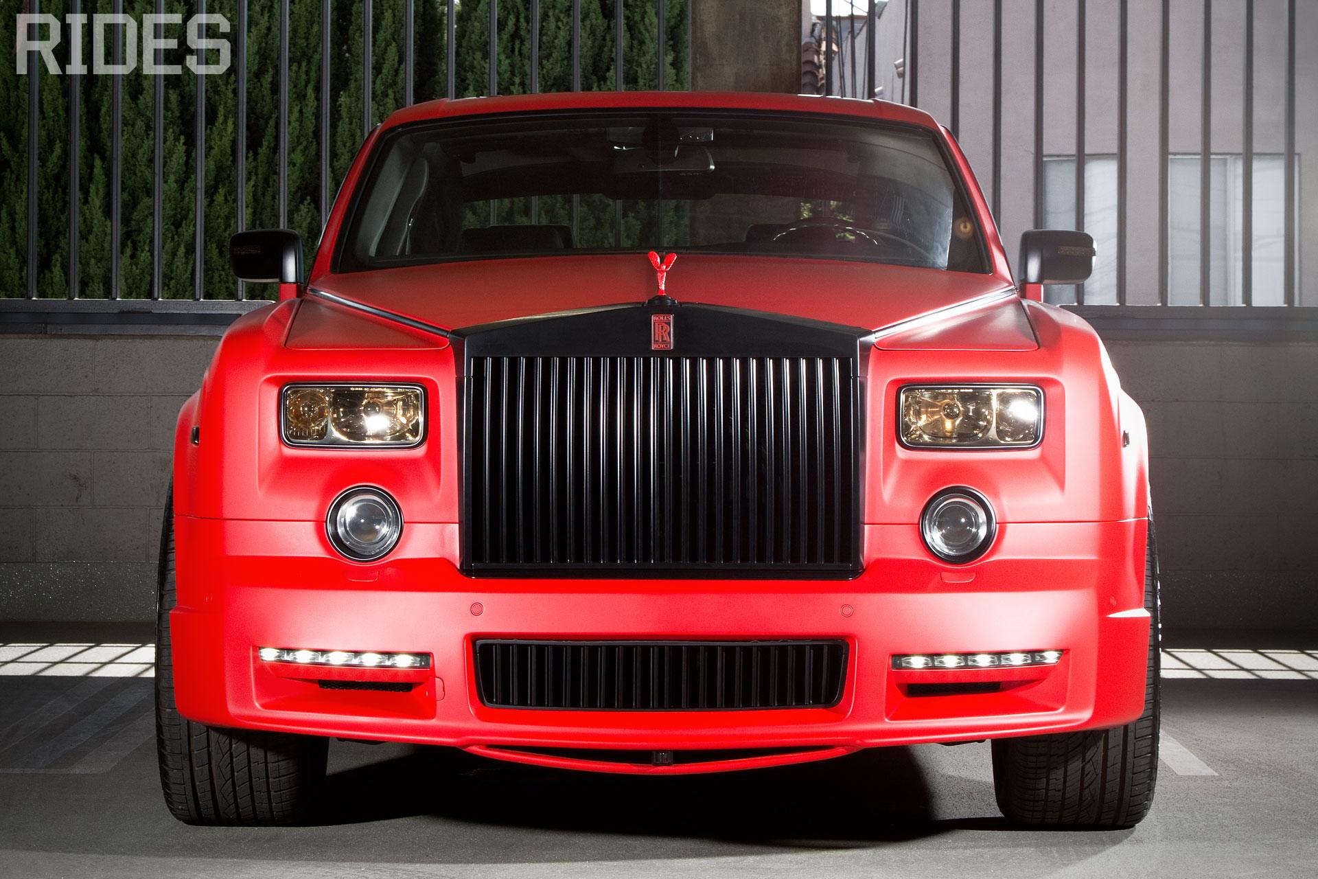 rides cars mansory platinum matte red rolls-royce rolls royce phantom