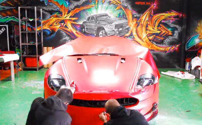 rides cars dartz-aston-mansory-martin-dbs-matte-red
