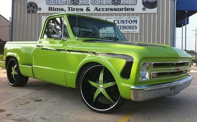 1967, Chevrolet, Chevy, C10, Custom, Rides