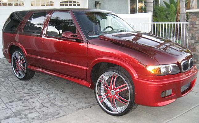 1995, Chevrolet, Chevy, Blazer, Custom, Rides