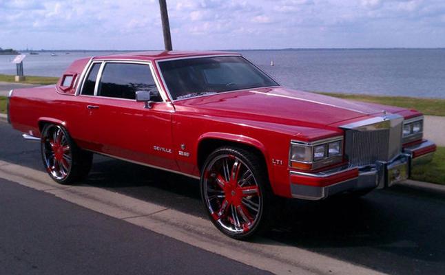 Cadillac, DeVille, 1984, Custom, Rides