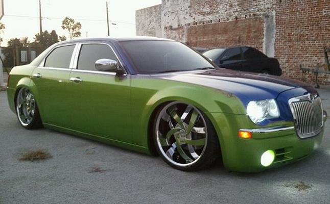 2005, Chrysler, 300C, Custom, Rides