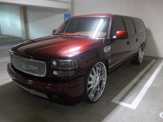 2007, GMC, Yukon, Custom, DUB, Rides