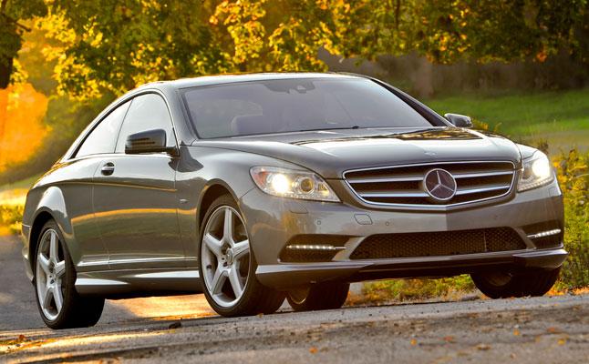 rides cars 2011 Mercedes-Benz CL550 4MATIC