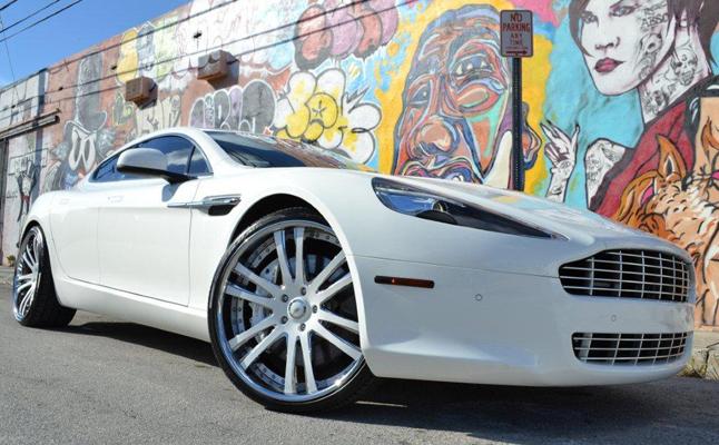 Aston Martin, Rapide, Rides