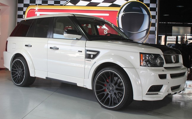 Range Rover Sport, 2010, Custom, Hamann, Rides