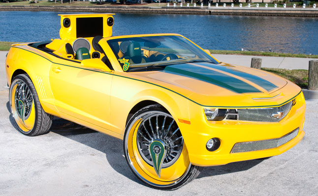 0 60 cars chevrolet chevy camaro ss yellow tampa vert convertible. Black Bedroom Furniture Sets. Home Design Ideas