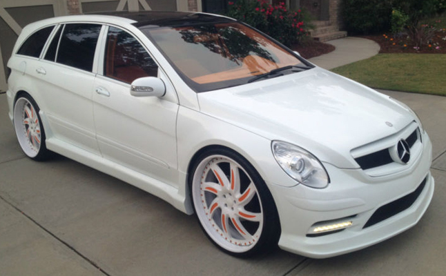 2006, Mercedes-Benz, Mercedes, Benz, R500, Forgiato, Rides, Custom