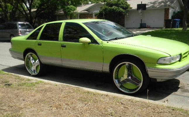 Chevrolet, Chevy, Caprice, Rides, Custom, Bubble