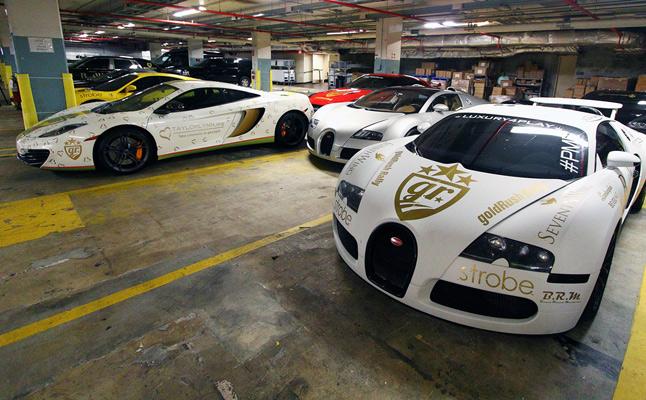 rides cars exotics luxury goldrush rally 2012 florida